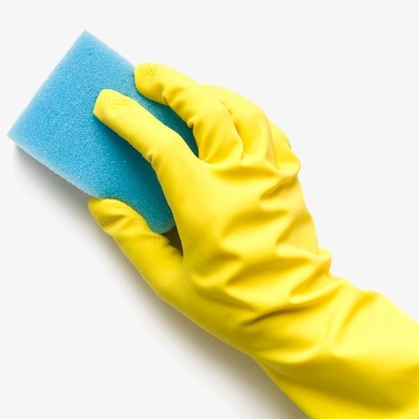Cleaning Chemicals, Sponges & Cloths