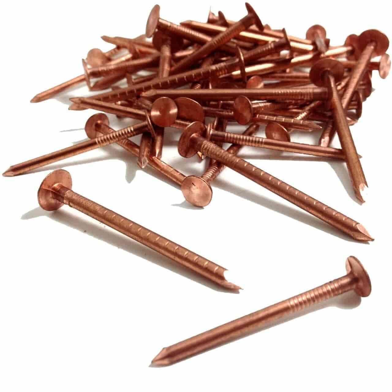 Copper Clout Nails