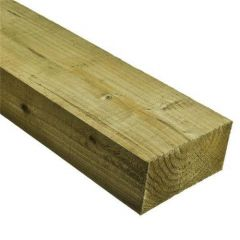 47mm x 100mm Structural Graded C24 Treated Carcassing Timber (4'' x 2'')