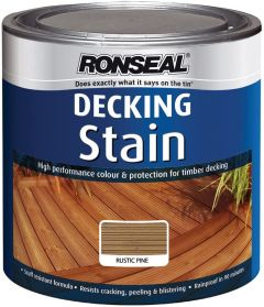 Ronseal Decking Stain Rustic Pine 2.5L