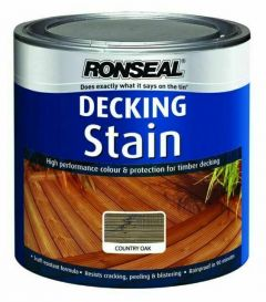 Ronseal Decking Stain Country Oak 2.5L