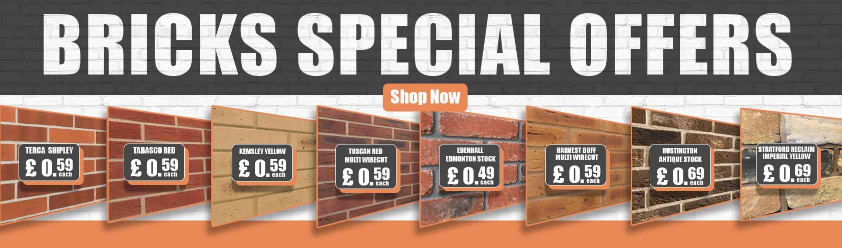 Bricks Special Offers
